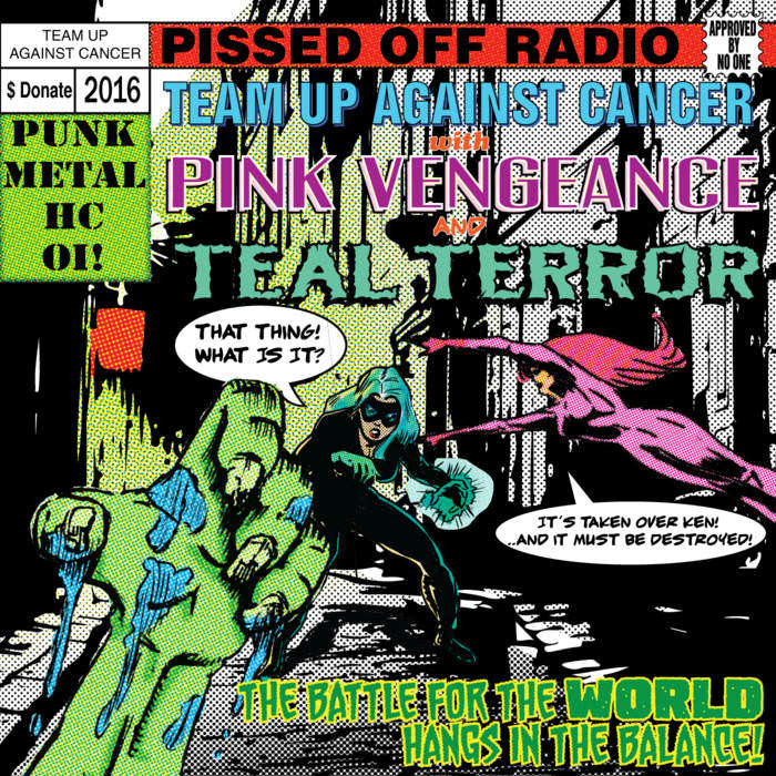 Pissed Off Radio Volume 4 Cover